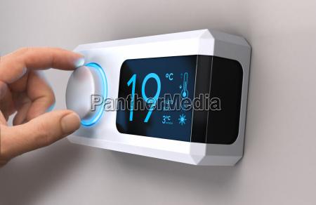 potenza elettricita energia elettrica riscaldamento temperatura