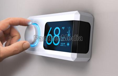 termostato home risparmio energetico