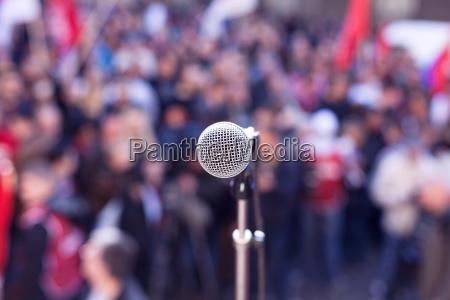 political protest demonstration
