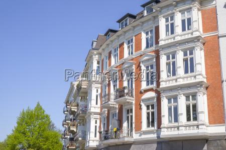 vecchia costruzione a amburgo germania