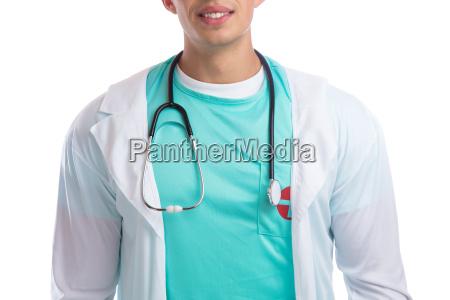 dottore medico laureato curare stetoscopio indagine