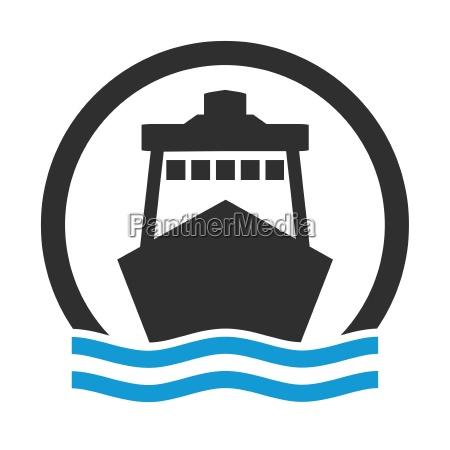 segnale porto porti cargo traghetto pittogramma