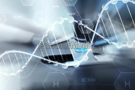 blu bicchiere strumento attrezzo medico medicina