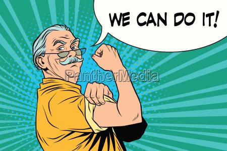 possiamo farlo vecchio