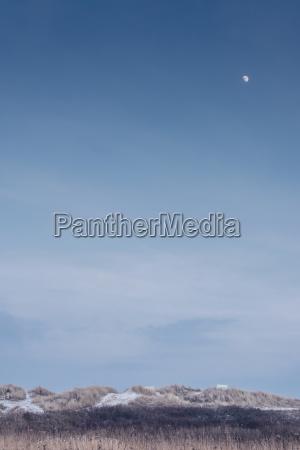 denmark hals moon over dunes