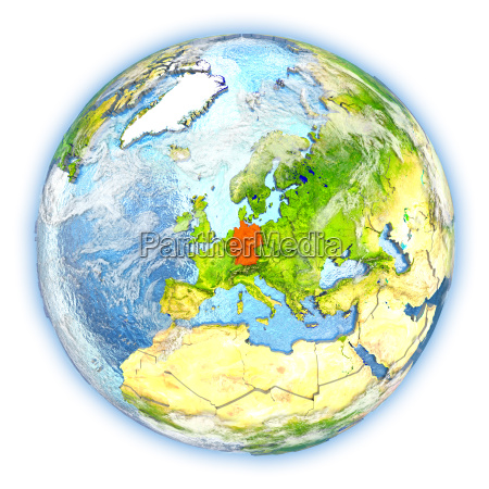 rilasciato europa illustrazione germania appartato satellite