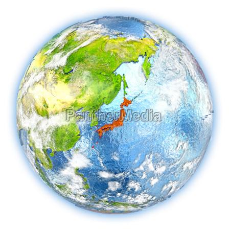 rilasciato asia illustrazione appartato satellite atmosfera