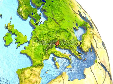 ambiente scienza europa illustrazione satellite paese