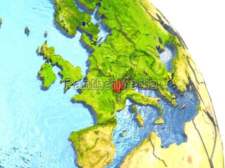 ambiente scienza europa svizzera illustrazione satellite