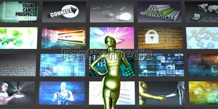 presentazione servizi divertimento socialmente progettazione concetto