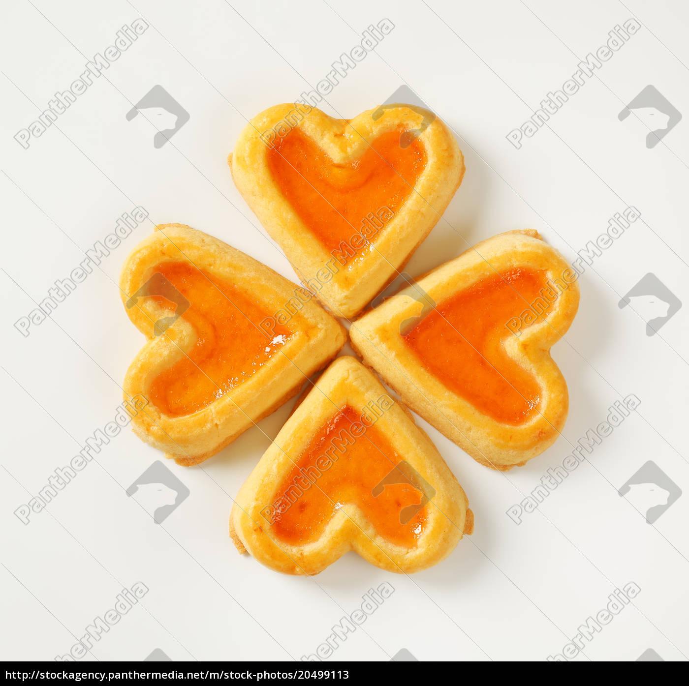 biscotti, a, forma, di, cuore, con - 20499113
