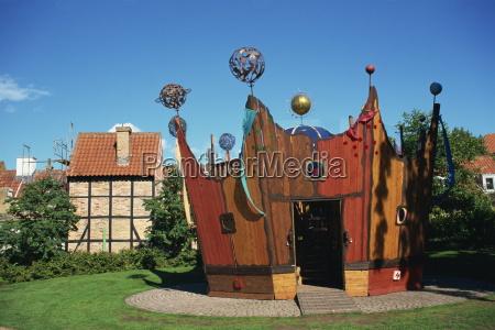 citta arte europa danimarca orizzontale luoghi