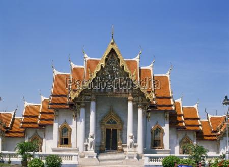 wat benchamabophit bangkok thailand southeast asia