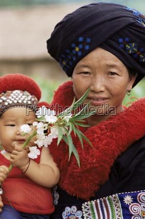 yao hill tribe chiang rai thailand