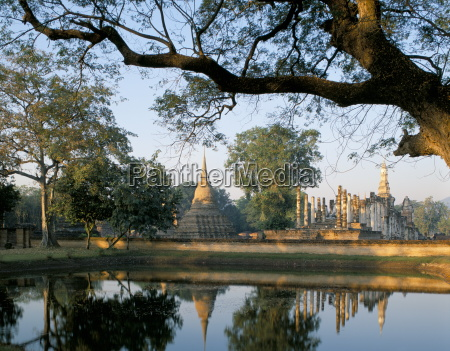 wat mahathat sukhothai unesco world heritage