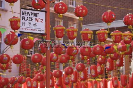 chinatown durante le celebrazioni di capodanno