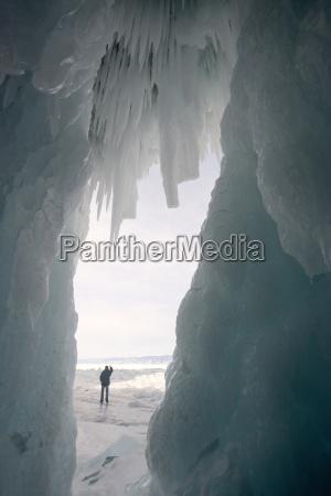 viaggio viaggiare colore inverno grotta freddo