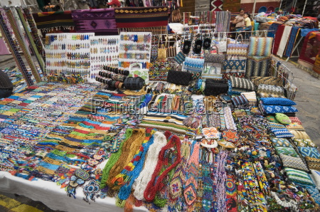 in the artisans market san miguel