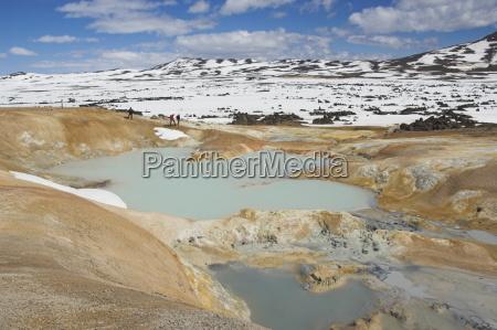 area, termica, ed, eruzionistica, di, leirhnjukur, vicino - 20666843