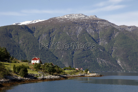 colore collina orizzontale norvegia allaperto fuori