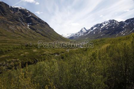 jotunheimen nationalpark sogne og fjordane norvegia