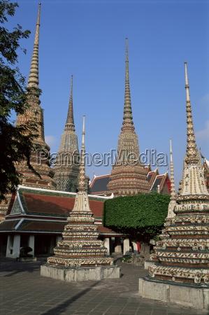 wat po bangkok thailand southeast asia