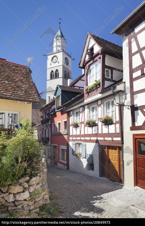 street, nel, centro, storico, della, città, con - 20849973