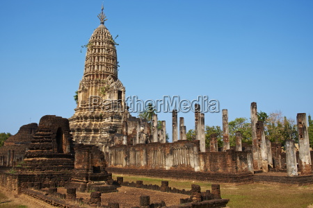 wat mahatat temple ancient city si