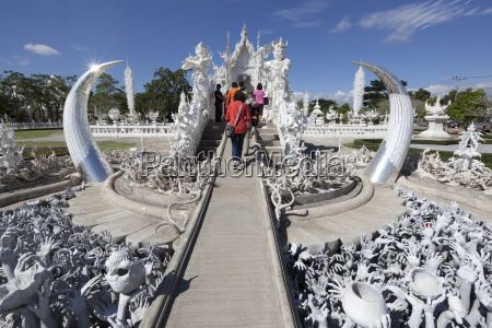 entrance to the wat rong khun