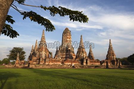 wat chaiwatthanaram ayutthaya unesco world heritage