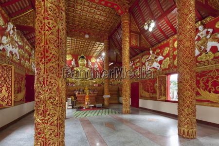 prayer hall of wat phra that