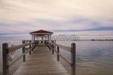 usa texas rockport fishing pier at