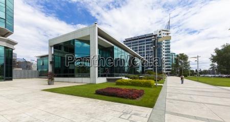 edifici per uffici moderni novi beograd