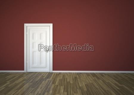 illustrazione della porta chiusa
