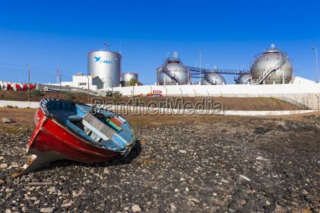 viaggio viaggiare industria impianti industriali spagna