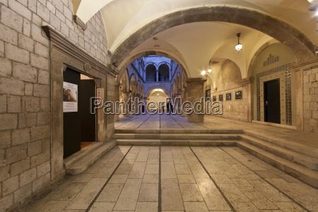 croazia dubrovnik vista della citta vecchia
