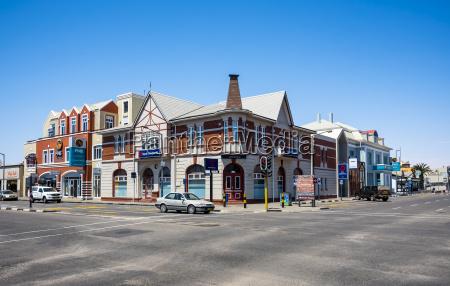 namibia swakopmund edificio storico stile coloniale