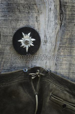 legno marrone pelle baviera germania fotografia