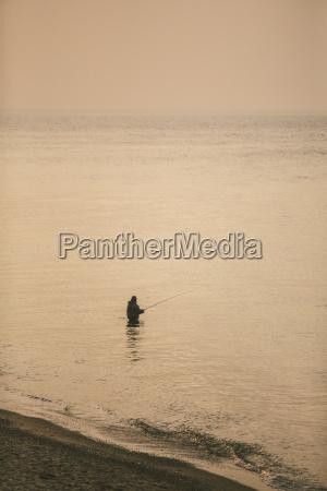 germania nienhagen vista sulla spiaggia con
