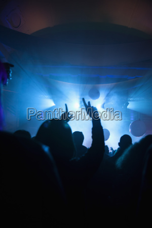 folla al concerto