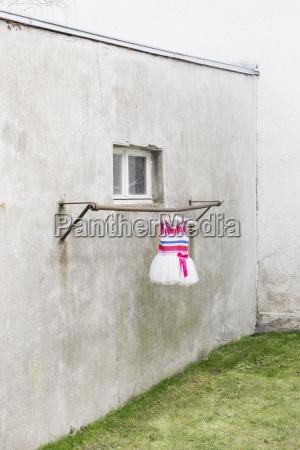 citta finestra triste germania cortile allaperto