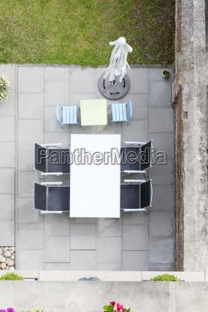 prenotare ordinare arredamento terrazza germania cortile