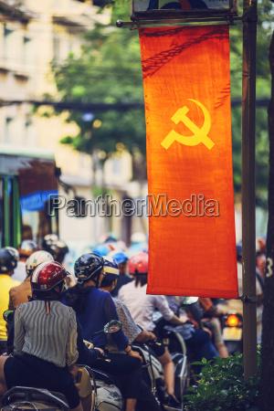 citta veicolo allaperto bandiera fotografia foto
