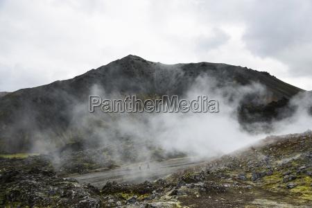 primavera calda a landmannalaugar in islanda