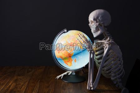 skeleton azienda globo