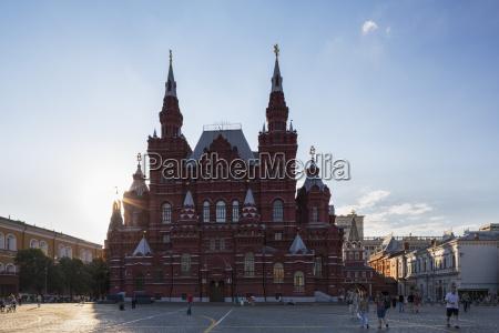 russia russia centrale mosca piazza rossa