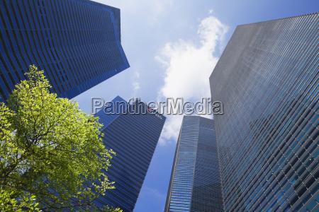 albero moderno nuvola singapore giorno durante