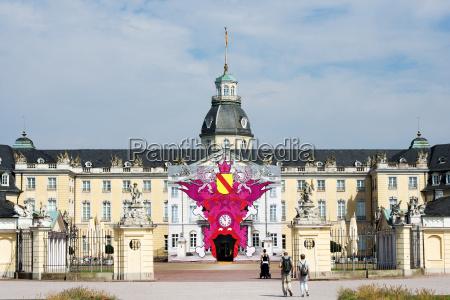 germany baden wuerttemberg karlsruhe former castle