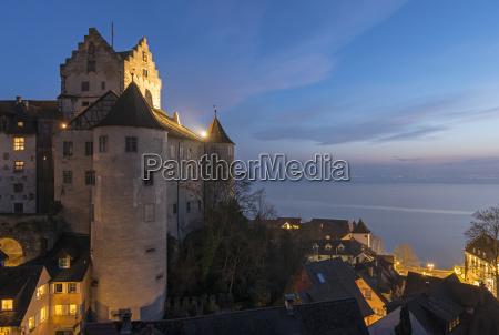 germany meersburg castle at lake constance
