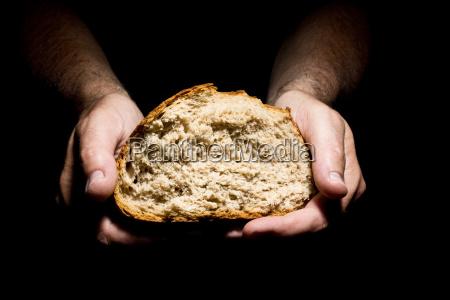 persone popolare uomo umano pane morbido